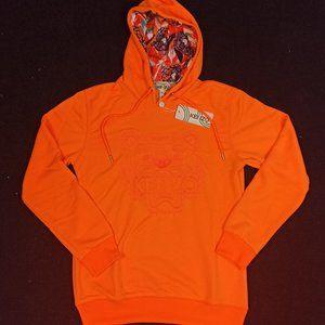 Kenzo Orange Hoodie , Women's , NWT , %100